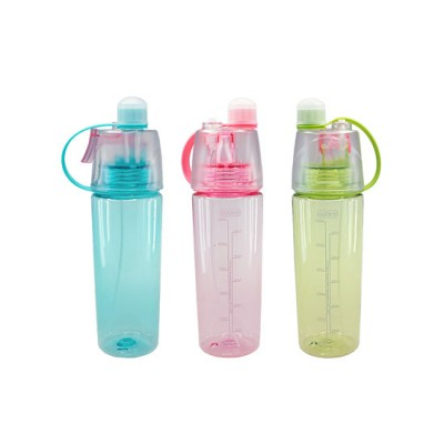 Mist Bottle with Leak-proof Silicone Cup and Spray