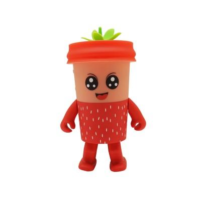 Dancing Fruit LED Speaker - Strawberry