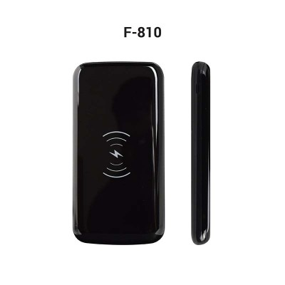 Wireless Portable Charger – 8000mAh (Dual USB Output 2.1A) with micro cable