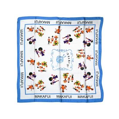 Customised Silk Scarves 50x50