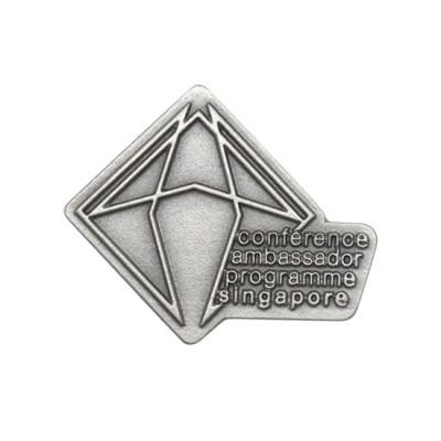 3D Pewter Collar Pin