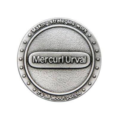 Customised 3D Pewter Medallion