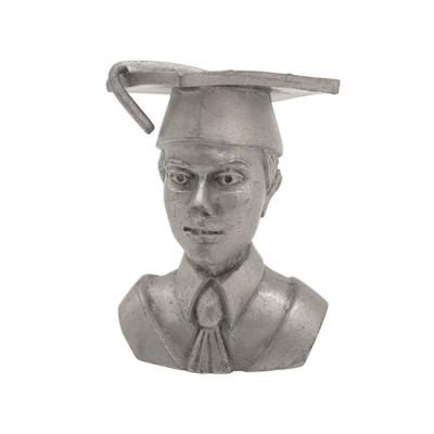 Customised 3D Pewter Graduation Guy Figure