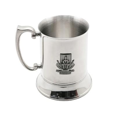 3D Pewter Stainless Steel Mug