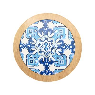 Bamboo/Ceramic Coaster