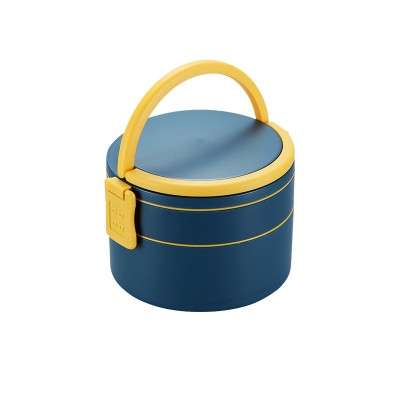 Double Layer Round Lunch Box