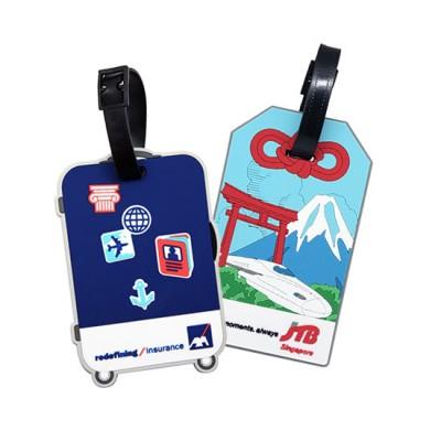 Customised 2D/ 3D PVC Luggage Tag