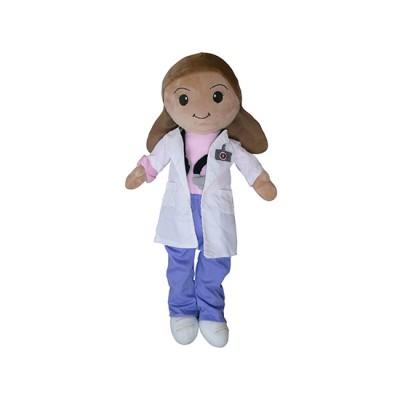 Female Doctor Plush Toy - Macarena - Nuestros Heroe