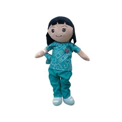 Female Nurse Plush Toy - Daniela - Nuestros Heroes