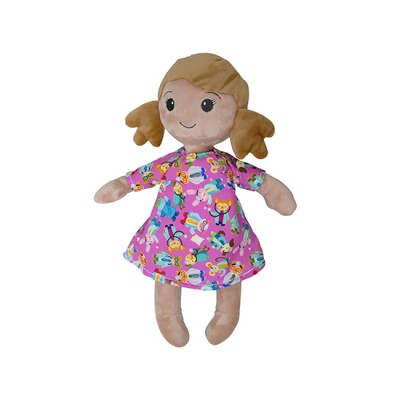 Little Patient Girl Plush Toy - Trini - Nuestros Heroes