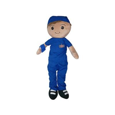 Male Nurse Plush Toy - Salomon - Nuestros Heroes