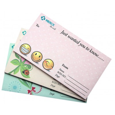 Customised Sticky Note Pad Without Cover 03