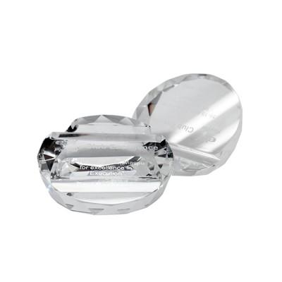 Access Round Diamond Paper Weight