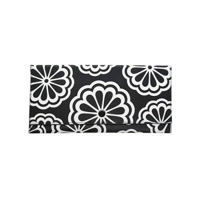 DQ Travel Wallet - White Flower