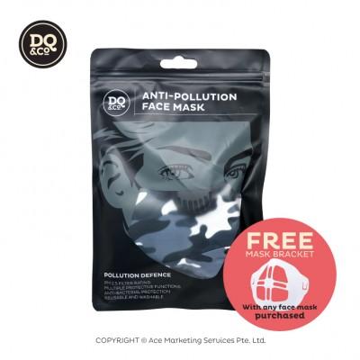 Anti-pollution Face Mask - Camo + FREE Mask Bracket