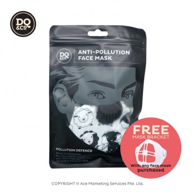 Anti-pollution Face Mask - Sheep + FREE Mask Bracket