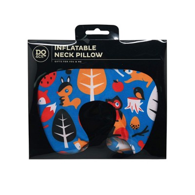 DQ Inflatable Neck Pillow - Woodland Fantasy