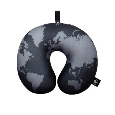 DQ Neck Pillow - World Map