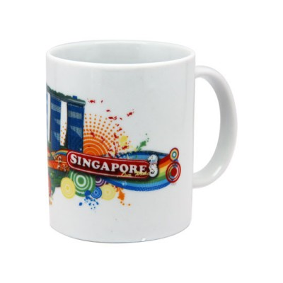 10oz White Mug - Marina Bay Sands