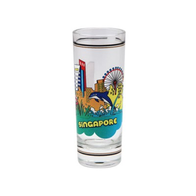 Clear Shooter Glass - Lion City Attractions