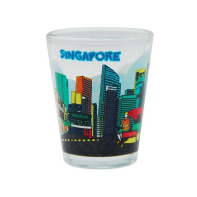 Clear Shot Glass - City Street Tour