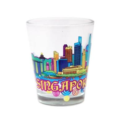 Clear Shot Glass - High Rise SG