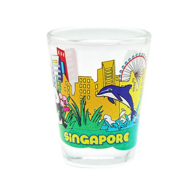 Clear Shot Glass - Lion City Attractions