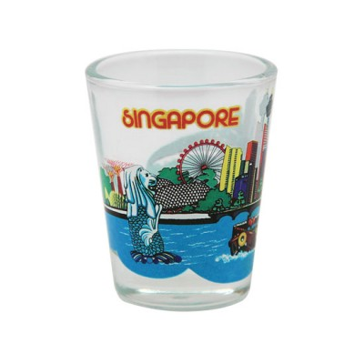 Clear Shot Glass - Singapore River Cruise