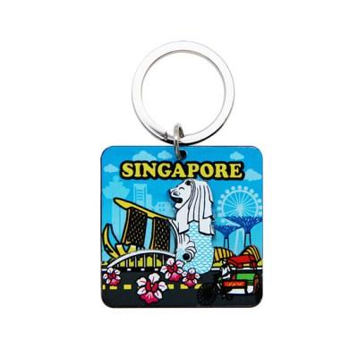 Acrylic Keychain - Iconic Singapore