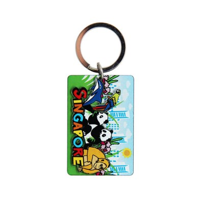 Acrylic Keychain - Lively Wildlife