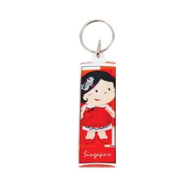 Acrylic keyring - Chinese Girl