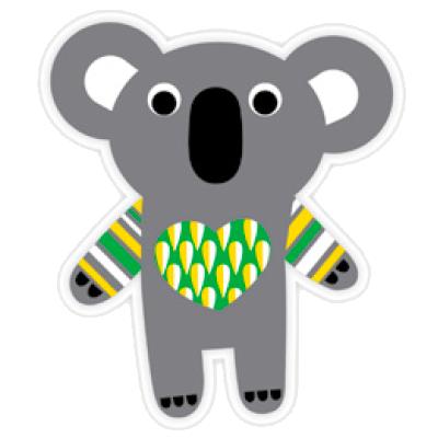 DQ-Magnet Dressed up Koala