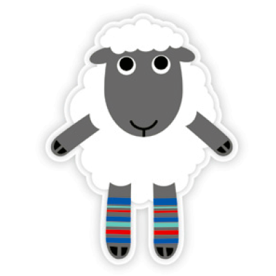 DQ-Magnet Dressed up Sheep