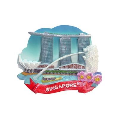 3D Glitter Polyresin Magnet - Glittering Singapore