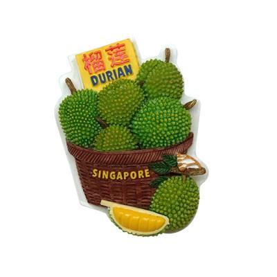3D Polyresin Fridge Magnet - Durian