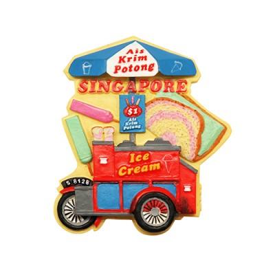3D Polyresin Fridge Magnet -  Ice Cream Uncle