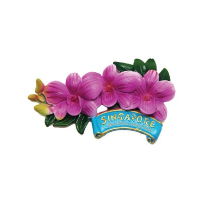 Flower Polyresin Magnet - Dendrobium Hybrid