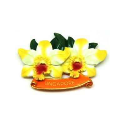 Flower Polyresin Magnet - Cattlianthe Little Fairy