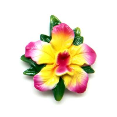 Flower Polyresin Magnet - Bollea Lawrenceana
