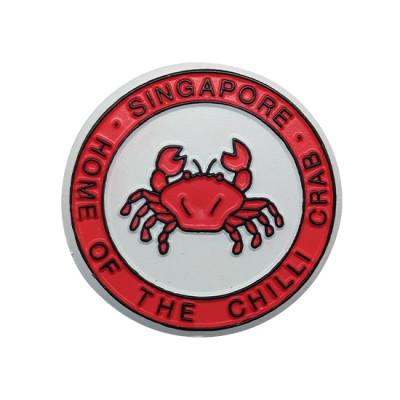 Rubberised Fridge Magnet - Chilli Crab