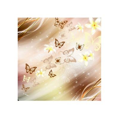 Scarf - Butterfly (100x100)