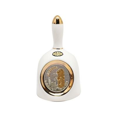"4"" Merlion Chokin Small Ringing Dinner Bell | Gift of Love"