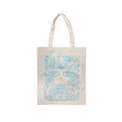 Cotton Bag - My Rabbit (Blue)