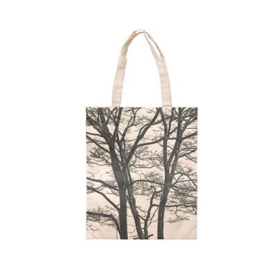 Cotton Bag - Lines Nature 1 (Black)