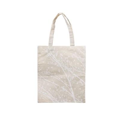 Cotton Bag - New Leaves 8 (White)