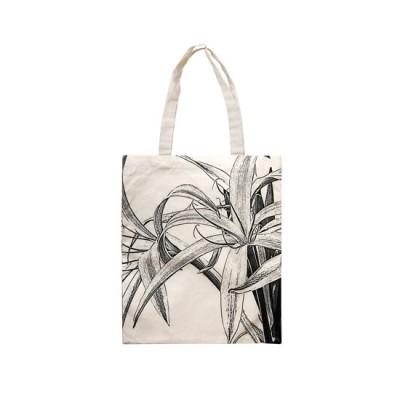 Cotton Bag - Spider Lily (Black)