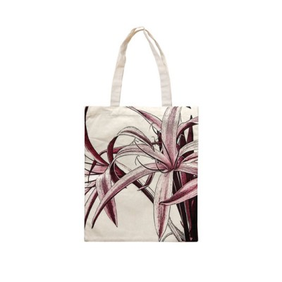 Cotton Bag - Spider Lily (Red)