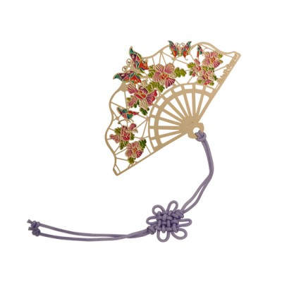 Colour Metal Bookmark - SG Butterfly