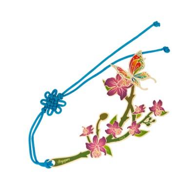 Colour Metal Bookmark - SG Daffodil