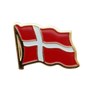Collar Pin - Denmark Flag
